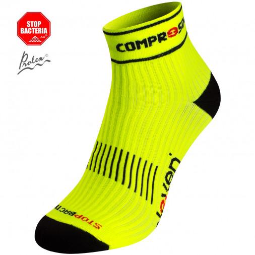 Compression socks LUCA Fluo