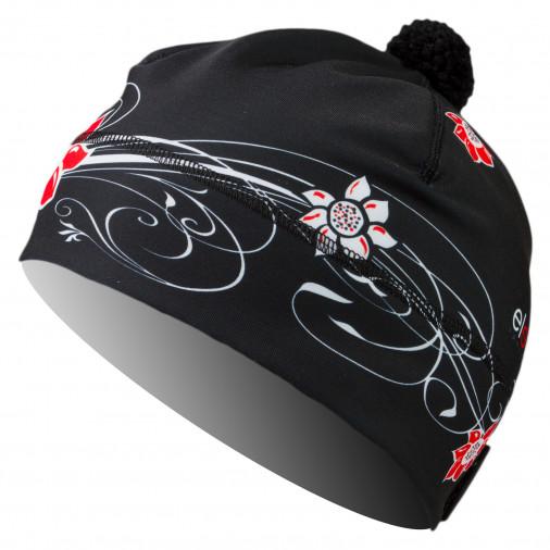 Cap ELEVEN SVEN Flower Black