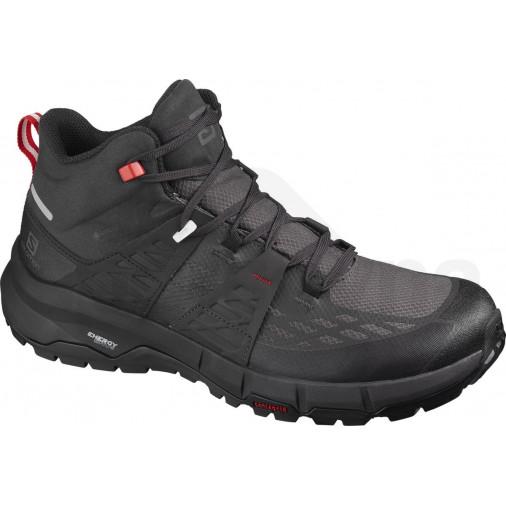SALOMON trail shoes Odyssey Mid GTX black/red