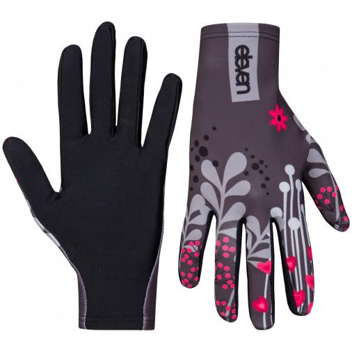 Sports gloves ELEVEN MEADOW grey