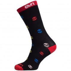 Socks SUURI Skull Black