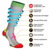Compression socks Solo White