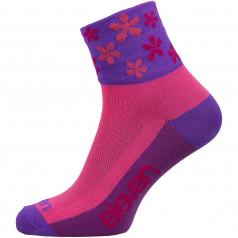 Socks ELEVEN HOWA FLOWER Pink