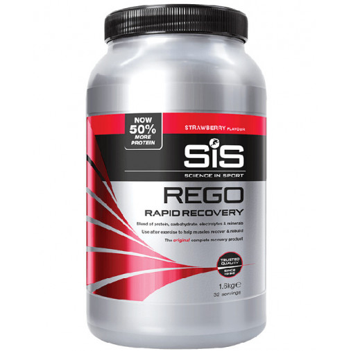 SIS REGO RAPID RECOVERY 1.6kg STRAWBERRY