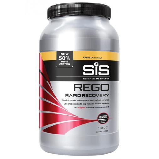SIS atjaunošanās dzēriens REGO RAPID RECOVERY 1.6kg vaniļas
