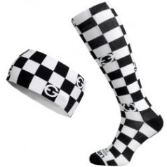 ELEVEN set CUBE BW compression socks + headband