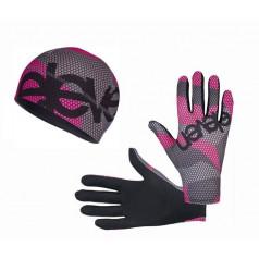 ELEVEN set BEE F32 running gloves + beanie
