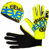 ELEVEN set F11 running gloves + beanie