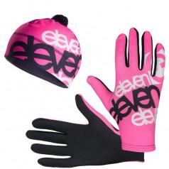 ELEVEN set F32 running gloves + beanie