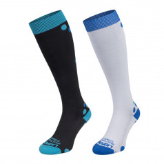 Compression socks Aida set with black and white socks