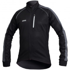 Winter cycling jacket ELEVEN FANES black