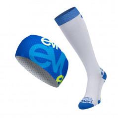 Compression socks Aida and headband Air