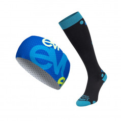 Compression socks Aida + headband Air Pass 5