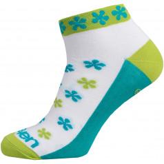 Socks Luca Flower green