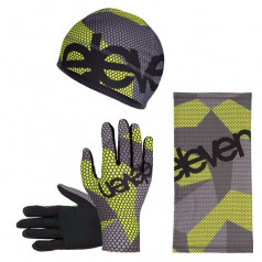 Bee F11 combo set for running and other sports: beanie, scarf, gloves