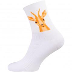 Stirnu Buks socks white