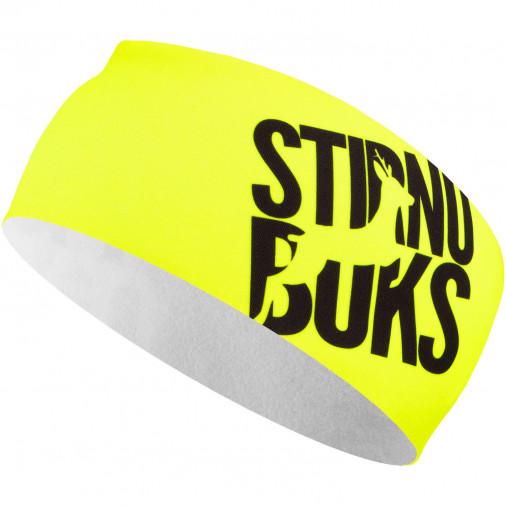 Galvas saite skriešanai Stirnu Buks dzeltena