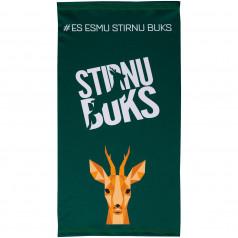 Scarf cap Stirnu Buks green