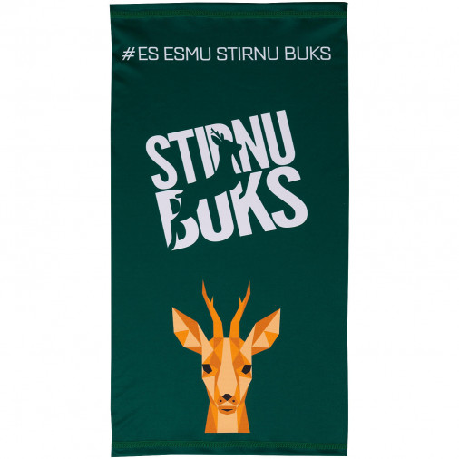 Sporta šalle Stirnu Buks zaļa