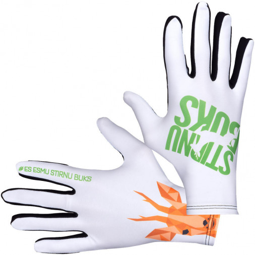 Running gloves STIRNU BUKS 2019 white