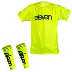 Skriešanas aksesuāru Eleven Fluo krekls + kompresijas ikri