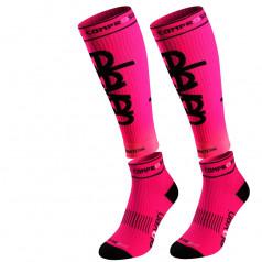 Eleven compression socks in set Luca Pink