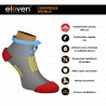 Compression socks short