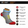 Short compression socks