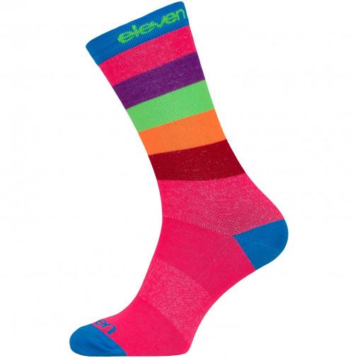 Krāsainas sporta zeķes SUURI+ Pink