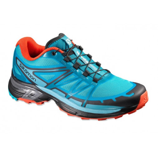 premium selection 6d7da 660d0 SALOMON trail running shoes WINGS PRO 2 W blue