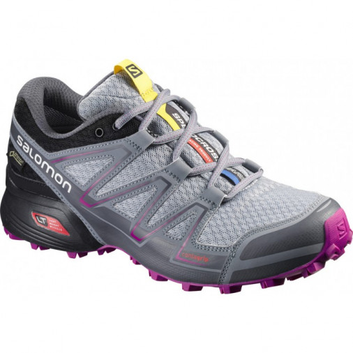 günstig Outlet-Verkauf klassisch SALOMON trail running shoes SPEEDCROSS VARIO GTX W grey