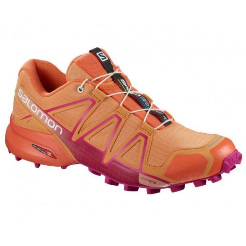 57b50618 SALOMON trail running shoes SPEEDCROSS 4 W orange