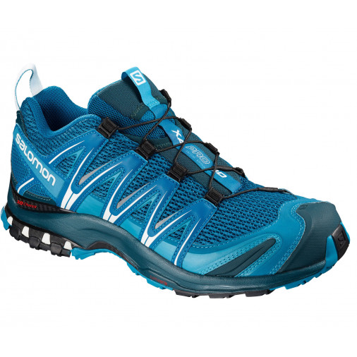 photos officielles 9c295 5066d SALOMON trail running shoes XA PRO 3D blue