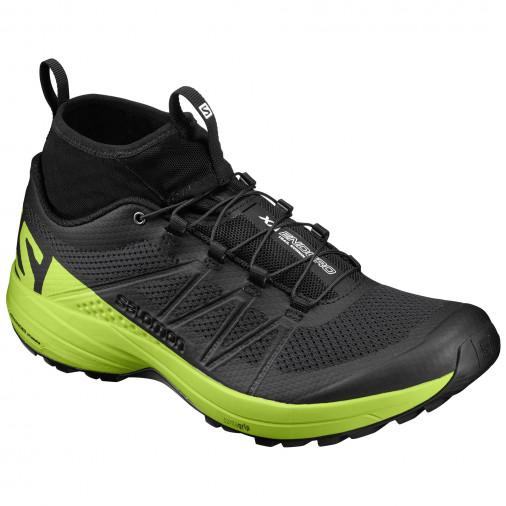 taille 40 1f7e5 bed49 SALOMON running shoes XA ENDURO black/green