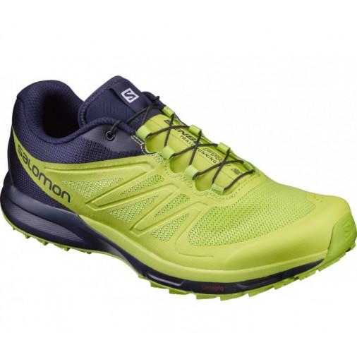 SALOMON trail running shoes SENSE PRO 2 green