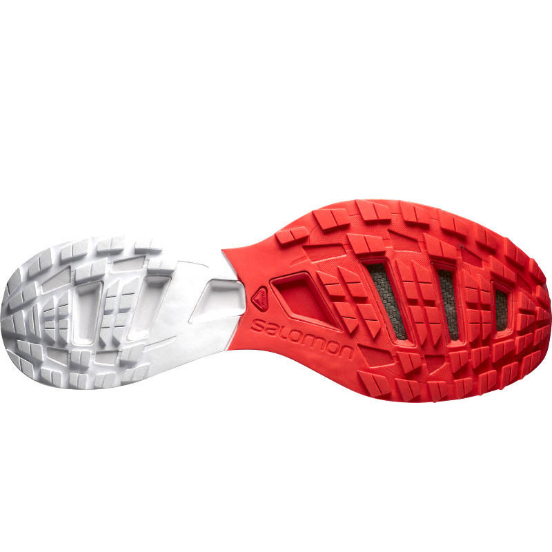 buy popular 5a3b7 5b514 SALOMON trail running shoes S-LAB SENSE 5 ULTRA red/white