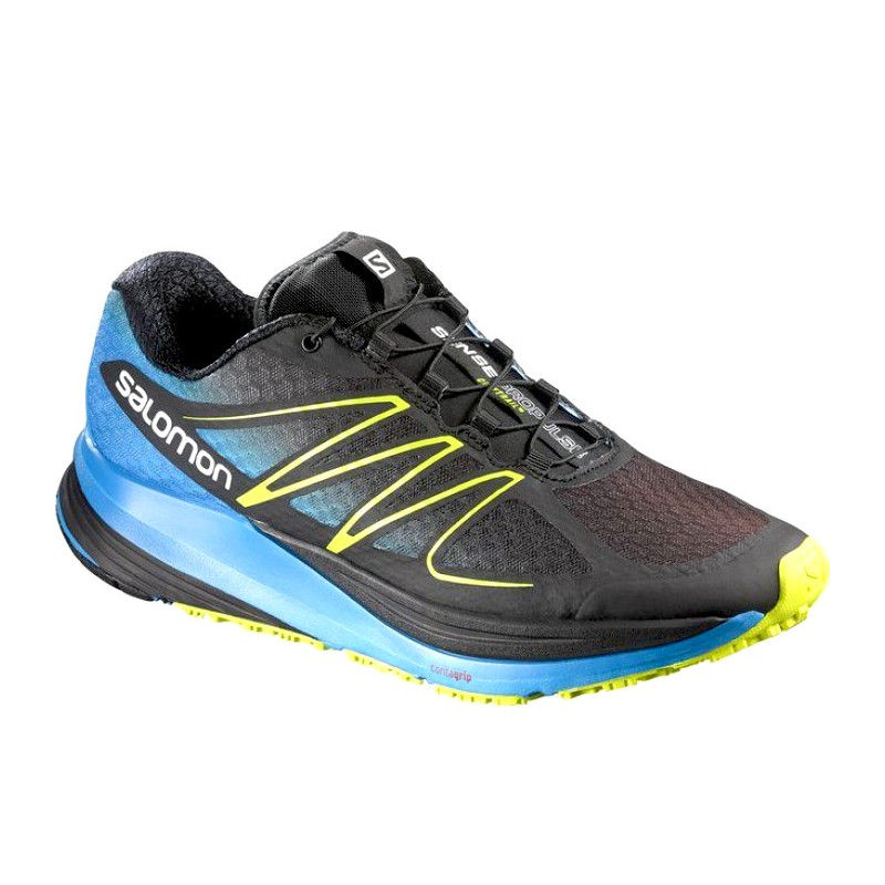SALOMON running shoes SENSE PROPULSE blackblue