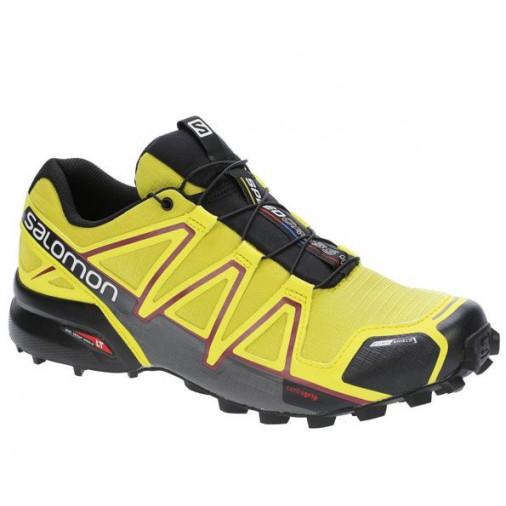 big sale d459f 6953a SALOMON trail running shoes SPEEDCROSS 4 CS yellow