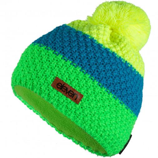 Adīta cepure POM fluo