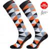 Compression socks Eleven Triangle orange