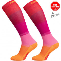 Compression socks Mono pink