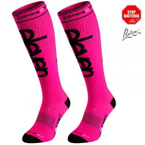 Kompresijas zeķes Eleven Pink