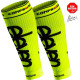 Compression calf sleeves Fluo