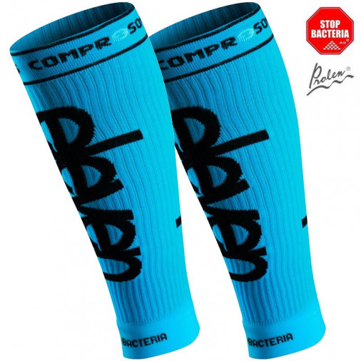 Compression socks for calves Eleven Blue