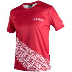 vīriešu T-krekls LATVIJA