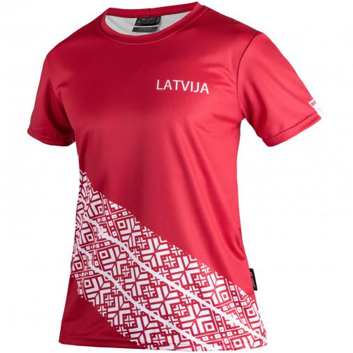 sieviešu T-krekls LATVIJA
