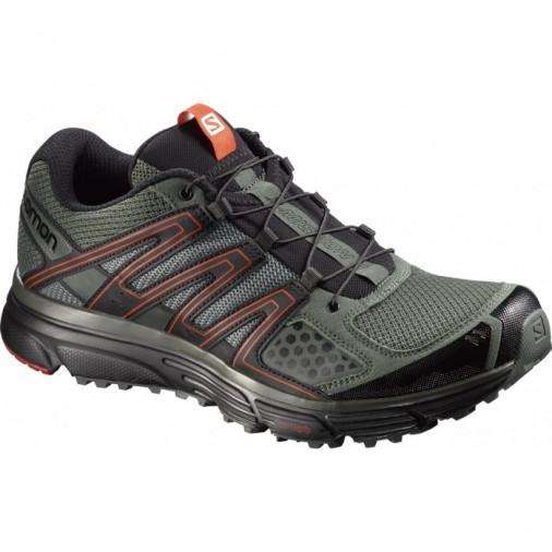 SALOMON running shoes X Mission 3 khakki/black/orange
