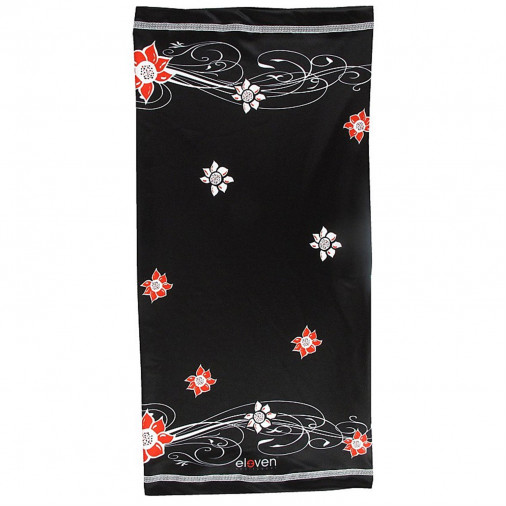 Multifunctional scarf FLOWER Red