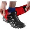 SALOMON trail gaiters high black/red