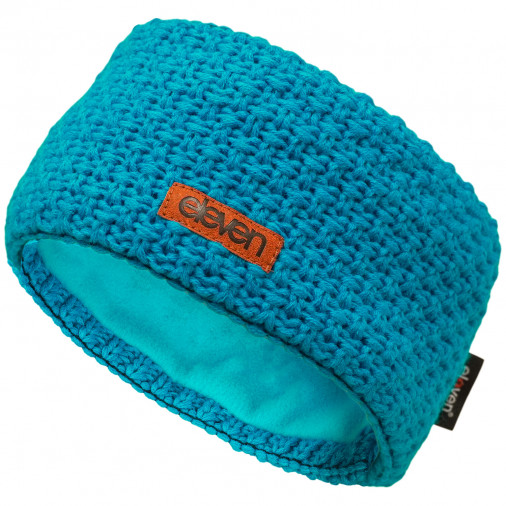 Knitted headband ELEVEN aqua